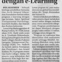 Lebih Efektif dengan e-Learning (RADAR JOGJA, Rabu 14 September 2011)